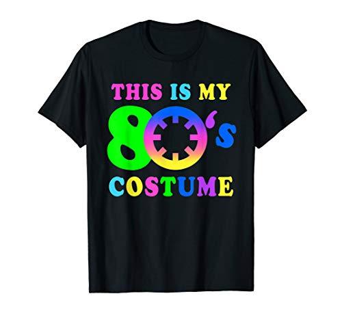 This is my 80's Costume | I Love the 80's Vintage Retro Neon ()