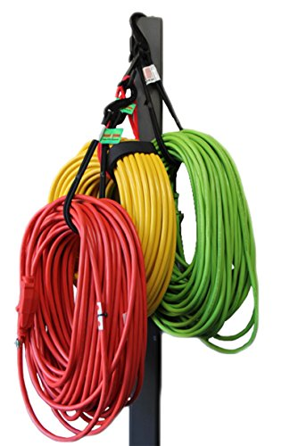 Bungee Cord Garage Organizer Storage Tool. Stocking Stuffers Christmas Holiday Gift Ideas For Men. Sports Equipment, Bike, Hoses, Cords Easy Hook and Hang In Shop, Basement, Closet. No Rack or Shelves (Gift $50 Ideas Christmas)