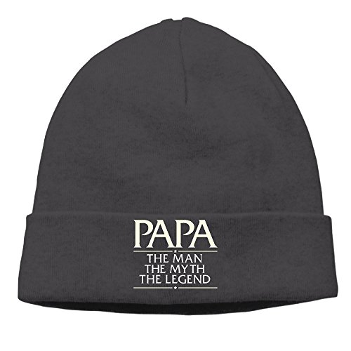 unisex-cute-soft-crazy-cool-papa-the-man-the-myth-the-legend-caps-slouchy-beanies-hat-cool-beanies-h