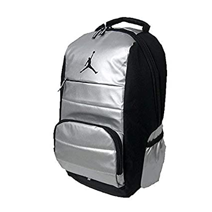 9f85f51882f9 Amazon.com  NIKE Air Jordan Jumpman Driven All World Student School Sports  Book Laptop Backpack Metallic Silver Black  Computers   Accessories