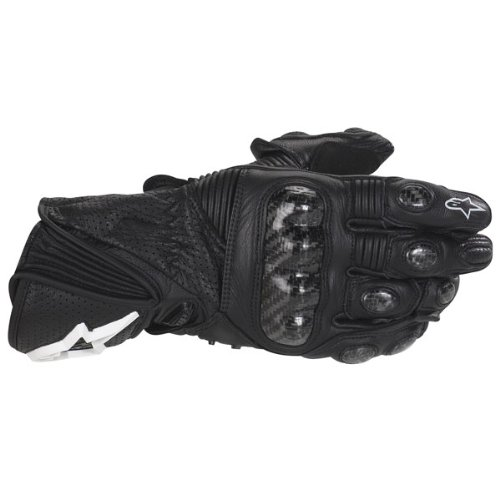 Alpinestars Stella Womens GP Plus Leather Motorcycle Racing Gloves Black XL