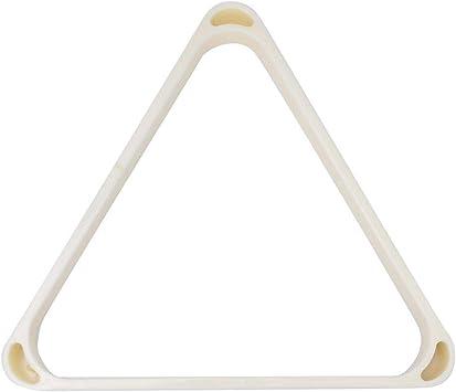 Alomejor Marco Triangular de Billar Bolas Profesionales de Plástico ...