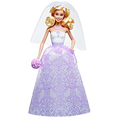 Barbie I Can Be A Bride Wedding Day Set Exclusive 4 Pack - Barbie, Ken, Stacie, and Chelsea: Toys & Games