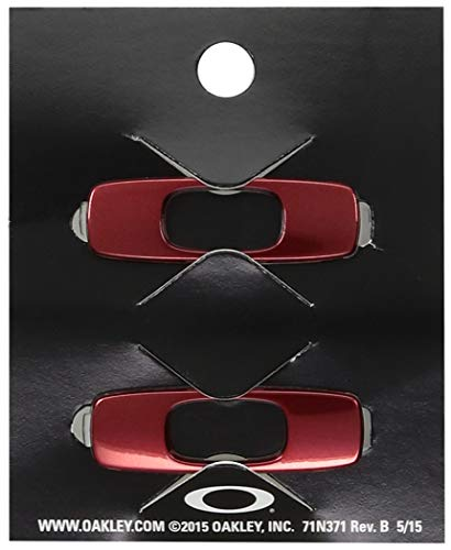 Oakley Men's Batwolf Icon Replacement Lenses, Red Anodized, 0 mm