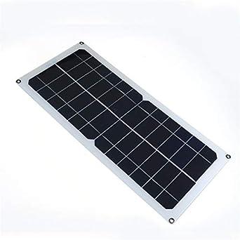 ExcLent Panel Solar Monocristalino De 10W 12V / 5V Ahorro De ...