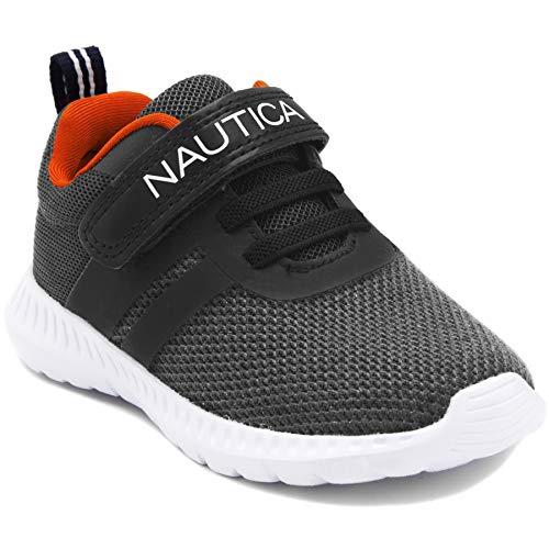 Nautica Kids Boys Fashion Sneaker Athletic Running - Toddler Jordan 5 Size Shoes