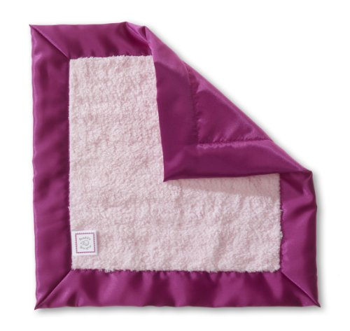 SwaddleDesigns Lovie Security Blanket Berry