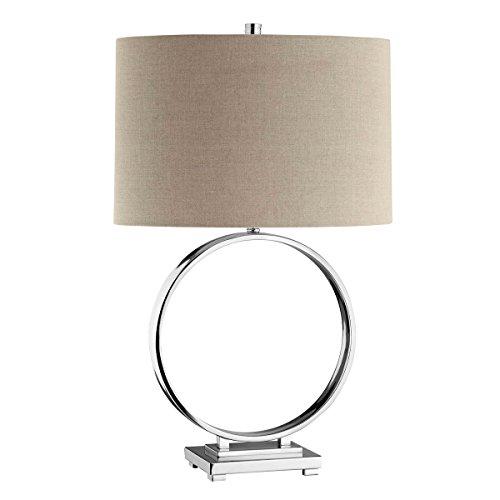 (Stein World 90007 Polished Nickel Lamp)