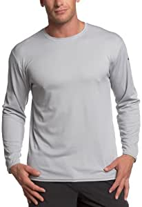 ASICS Men's Circuit 7 Warm-Up Long Sleeve Shirt (Athletic Grey, X-Small)