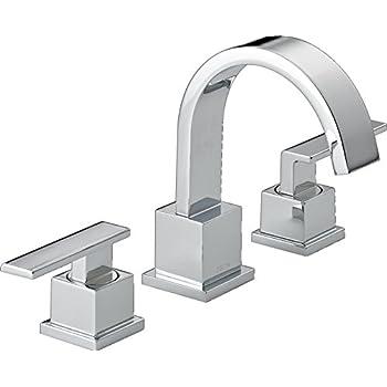 Delta Faucet Delta 3567-MPU-DST Ara Two Handle Widespread Bathroom ...