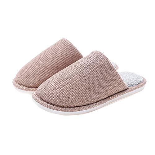 Cotone Antiscivolo Inverno Unisex Autunno Comfort Pantofole In Per Leggero Ultra 39 38 Marrone Westeng Caldo Morbido qW4wExRCxB