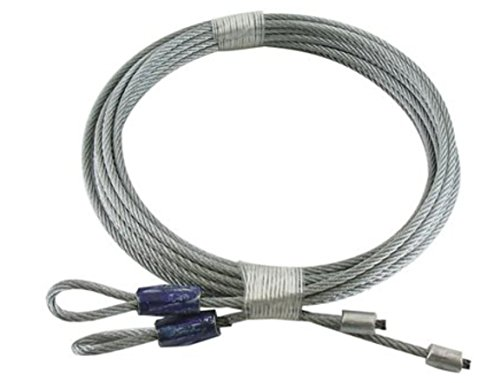 lunanice Garage Door Cables For Torsion Spring 8' Long Door(114