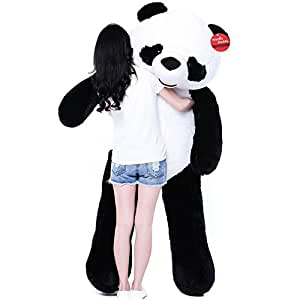 Niuniu Daddy 71'' Giant Plush Panda Bear Stuffed Animal Toy