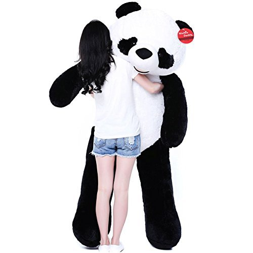 Niuniu Daddy 71 Giant Plush Panda Bear Stuffed Animal Toy
