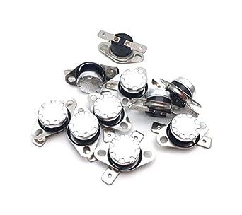 Antrader KSD301 termostato, N.C. Interruptor de control de ...