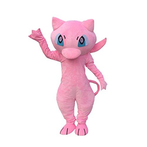 [CosplayDiy Unisex Pokemon Go Cartoon Character Mascot Costume Adult XXL] (Pokemon Costumes Adults)