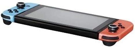 Hama - Juego de accesorios para mando de Nintendo Switch Joy-Con (8 en 1, 4 colores), color negro, blanco, azul, rojo y gris: Amazon.es: Videojuegos