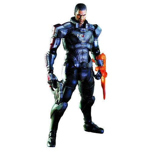 Square Enix Mass Effect 3: Play Arts Kai: Commander Shepard Action Figure