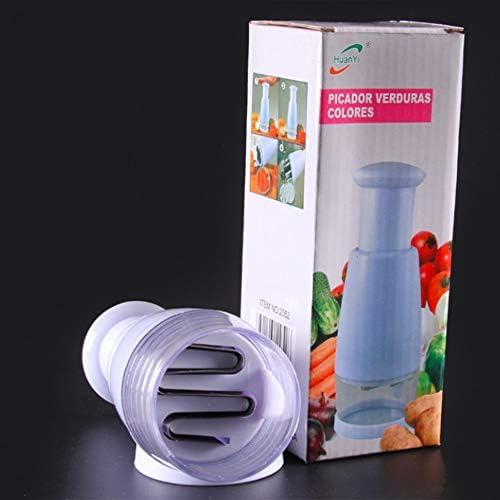 N//V multifunci/ón manual de cebolla picadora de ajo trituradora de ajo prensado cortador de alimentos cortador de verduras pelador picador herramientas de cocina