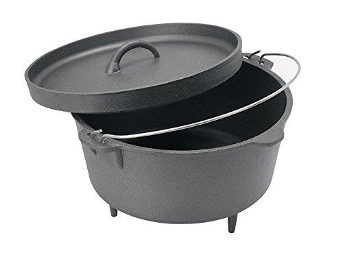 16 cast iron dutch oven - 2