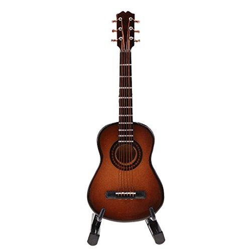 [해외]SunniMix 12 인치 액션 피겨 인형 기타 클래식 기타 악기 모델 16 장난감 #2 / SunniMix 12inch Action Figure Doll Guitar Classic Guitar Instrument Model 16 Toys #2