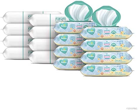 Pampers Complete Scented Pop Top Refill product image