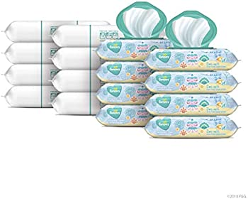 1152-Count Pampers Baby Diaper Wipes Complete Clean Scented