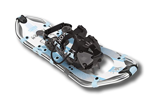 Elite Series Snowshoe, Womens, 8'' x 21'', White / Blue - Yukon Charlie 80-1006 by Yukon Charlie's