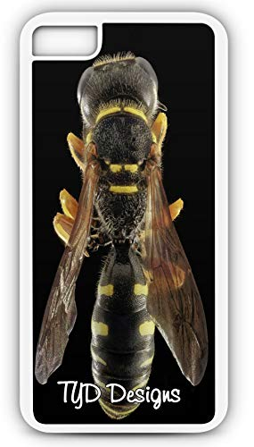 - iPhone 7 Plus 7+ Case Wasp Bee Hymenoptera Yellow Jacket Sting Insect Customizable TYD Designs in White Plastic