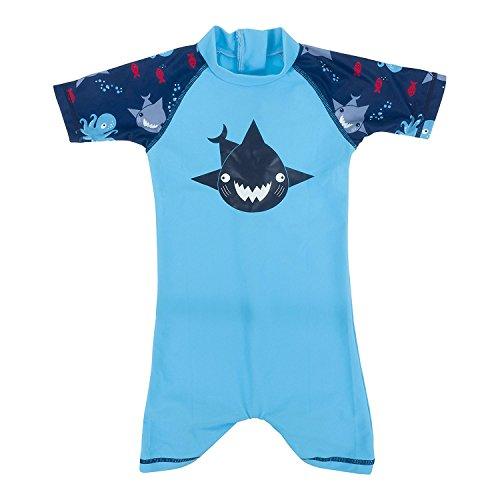 Manica Intero Termico Bimba Corta Bimbo Shark Costume Turquoise EdqvHwR