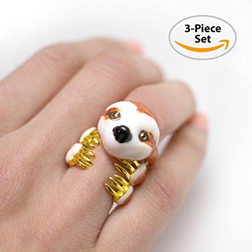 Sloth Jewelry / Sloth Gift / 3