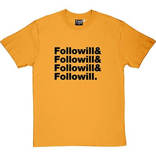 T34 - Camiseta Yellow Men's T-Shirt