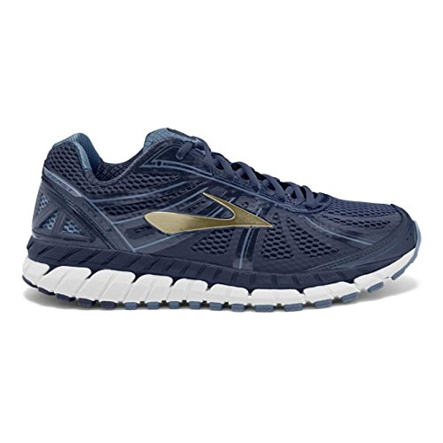 Brooks Beast 16, Scarpe da Corsa Uomo Peacoat Navy/China Blue/Gold