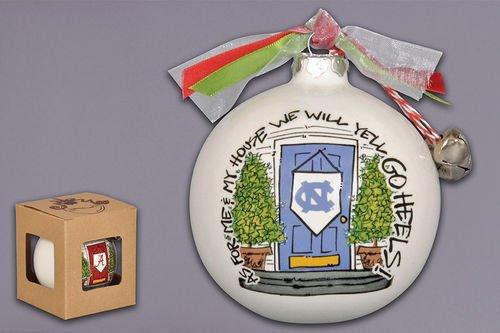Magnolia Lane As for Me and My House Holiday Ornament (North Carolina Tarheels)