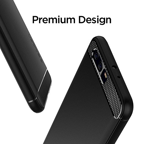 Spigen Rugged Armor Huawei P10 Plus Case with Resilient Shock Absorption and Carbon Fiber Design for Huawei P10 Plus(2017) - Rugged Armor by Spigen (Image #4)