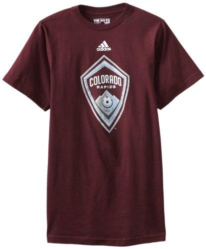fan products of MLS Colorado Rapids Primary Logo T-Shirt, Medium, Maroon