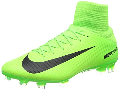 new product 90aa4 01fe3 NIKE Mercurial Veloce III DF FG 831961-303 GreenBlack Mens Soccer Cleats  - Buy Online in KSA. Shoes products in Saudi Arabia. See Prices, Reviews  and Free ...