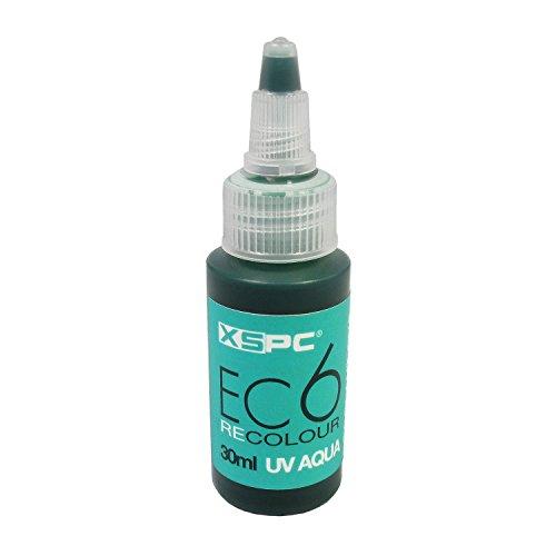 XSPC EC6 ReColour Dye, 30 mL, UV Aqua