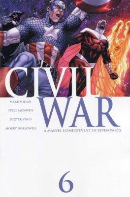 """Civil War #6 """"1st Print"""" ebook"""