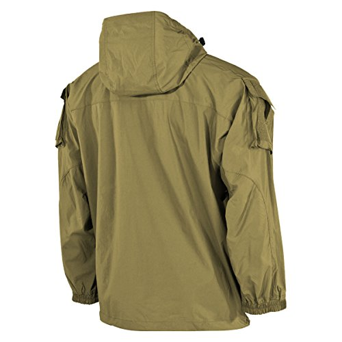 3XL Tan Tan Tamaño Chaqueta US Coyote MFH 5 Soft Coyote Level Hombre Shell vUOH71wq