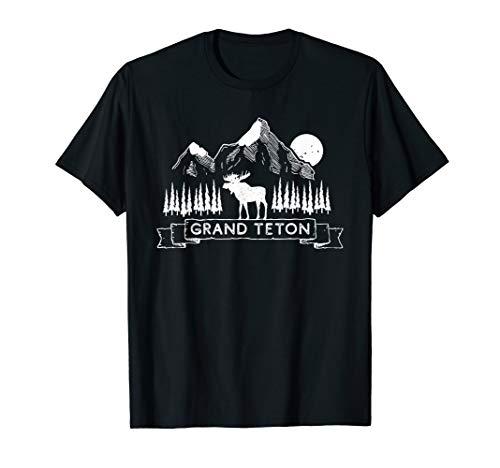 Grand Teton Shirt | Grand Teton National Park Wyoming Gift T-Shirt