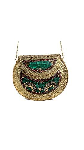 alvi-qmar-handmade-antique-metal-clutch-purse-wallet-hard-handbag-with-strong-golden-chain-multi-eli