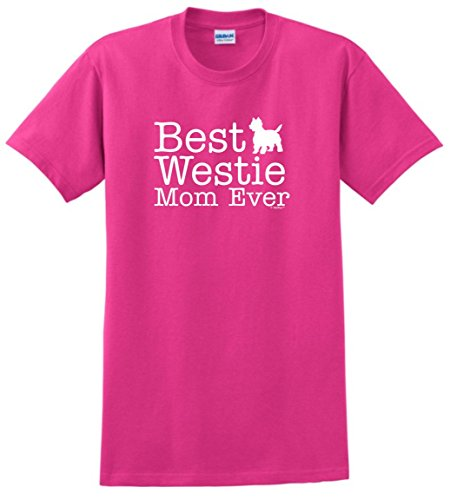 (West Highland Terrier Gifts West Highland Terrier Gifts Best Westie Mom Ever T-Shirt Medium Hlcna)