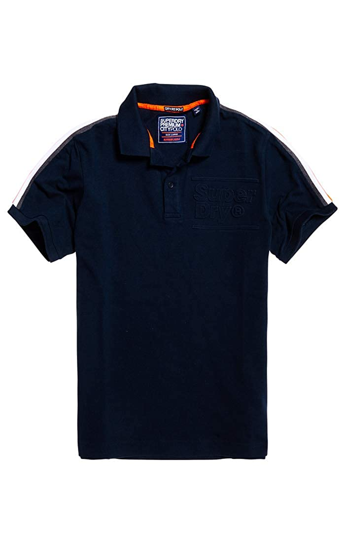 Superdry City Honor S/s Pique Polo, Azul (Eclipse Navy 98T ...