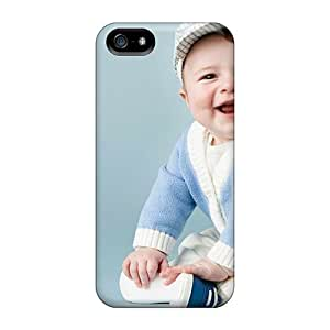 BOS12236mIUt Faddish People Children Smiling Baby Case Cover For Iphone 5/5s