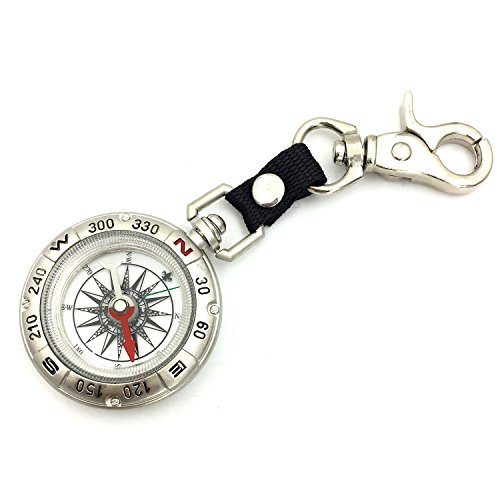 - PANOVO Antique Keychain Military Magnetic Compass Tools
