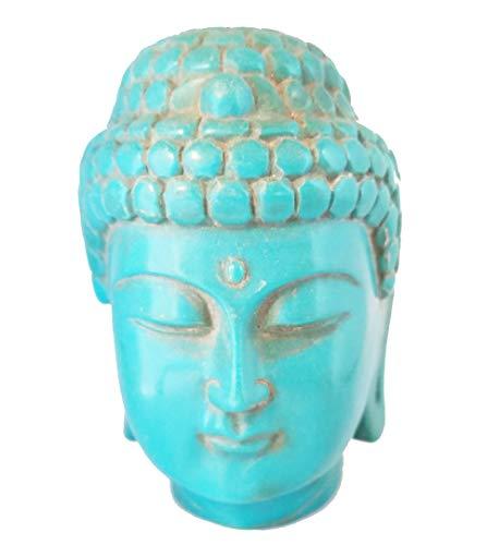 - Home n Heart Buddha Head Statue (Turquoise)