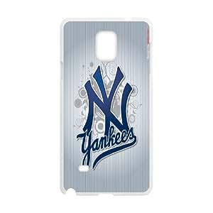Peronalised Phone Case Yankees Logo For Samsung Galaxy Note 4 N9100 LJ2S32681