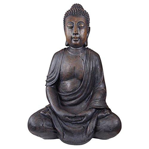 Design Toscano Meditative Buddha of the Grand Temple Large-Sized Garden Statue