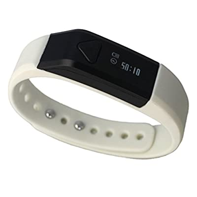Toprime®Smart Bracelet (Toprime All 35% Discount On August 17th for Each Color,Just One Day) Activity Tracker PDM 1102 with Waterproof,Monitor Sleep,Tracker Steps,Calories,Distance